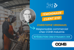 Témoignage client COHB industrie SYD